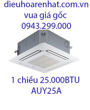 Điều hòa âm trần Fujitsu 1 chiều 25000BTU AUY25A