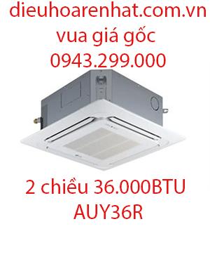 Điều hòa âm trần Fujitsu 2 chiều 36000BTU AUY36R