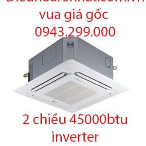 Điều hòa âm trần Fujitsu 2 chiều inverter 45000BTU AUAG45LRLA