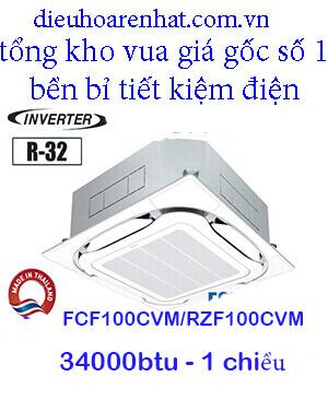 Điều hòa âm trần daikin 1 chiều inverter FCF100CVM/RZF100CVM