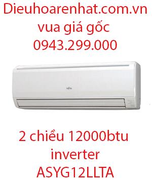 Điều hòa Fujitsu 2 chiều 12000BTU inverter