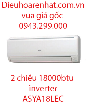 Điều hòa Fujitsu 2 chiều 18000BTU inverter