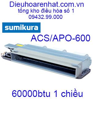 Điều hòa nối ống gió Sumikura 1 chiều 60000Btu ACS-APO-600