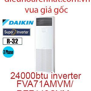 Điều hòa tủ đứng Daikin 24000btu 3 Pha FVA71AMVM/RZF71CYM