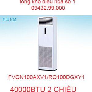 Điều hòa tủ đứng Daikin 40000BTU FVQN100AXV1/RQ100DGXY1