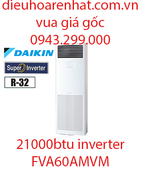 Điều hòa tủ đứng Daikin inverter 21000BTU FVA60AMVM