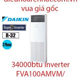 Điều hòa tủ đứng Daikin inverter 34000BTU 3 Pha FVA100AMVM