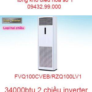 Điều hòa tủ đứng Daikin inverter 34000BTU FVQ100CVEB/RZQ100LV1