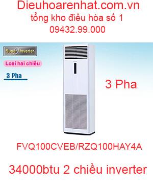 Điều hòa tủ đứng Daikin inverter 34000btu FVQ100CVEB/RZQ100HAY4A