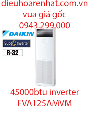 Điều hòa tủ đứng Daikin inverter 45000BTU FVA125AMVM