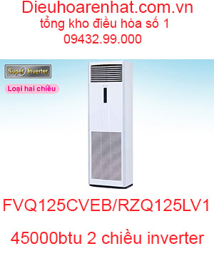 Điều hòa tủ đứng Daikin inverter 45000BTU FVQ125CVEB-RZQ125LV1