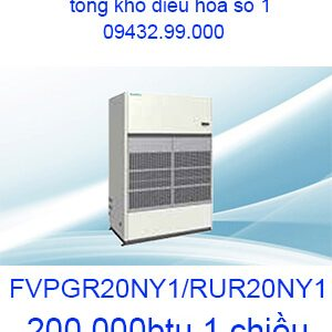 Điều hòa tủ đứng nối ống gió Daikin 200000btu FVPGR20NY1/RUR20NY1
