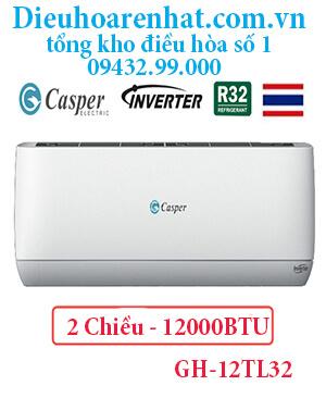 Điều hòa casper GH-12TL32 12000BTU 2 chiều inverter - uy tín giá rẻ