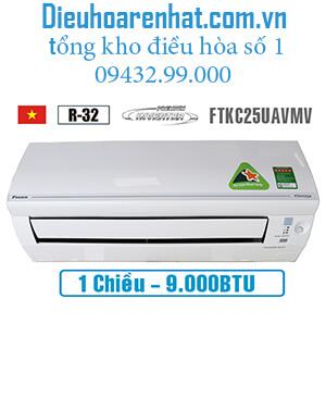 Điều hòa Daikin 1 chiều inverter 9000btu FTKC25UAVMV