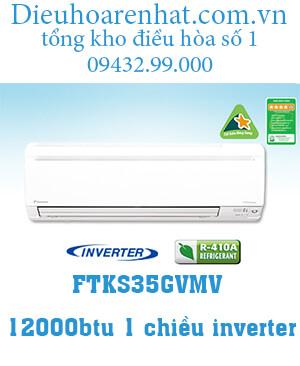 Điều hòa Daikin 1 chiều inverter 12000btu FTKS35GVMV