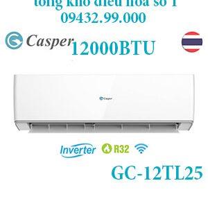 Điều hòa casper GC-12TL25 12000BTU 1 chiều inverter - uy tín giá rẻ