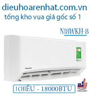 Điều hòa Panasonic 1 chiều 18000BTU N18WKH-8-Cam kết Rẻ