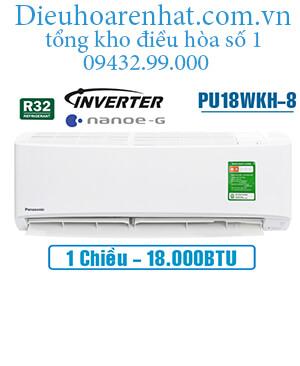 Điều hòa panasonic 1 chiều 18000btu inverter PU18WKH-8 vua giá gốc