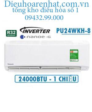Điều hòa panasonic 1 chiều 24000btu inverter PU24WKH-8 vua giá gốc