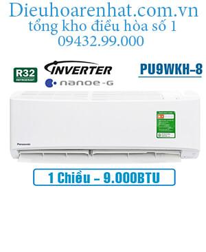 Điều hòa panasonic 1 chiều 9000btu inverter PU9WKH-8 vua giá gốc