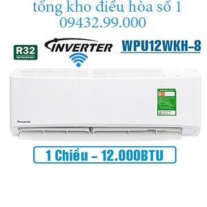 Điều hòa panasonic 1 chiều 12000btu inverter wifi WPU12WKH-8