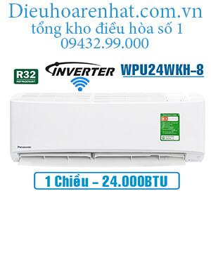 Điều hòa panasonic 1 chiều 24000btu inverter wifi WPU24WKH-8