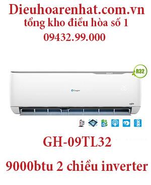 Điều hòa casper GH-09TL32 9000BTU 2 chiều inverter - uy tín giá rẻ
