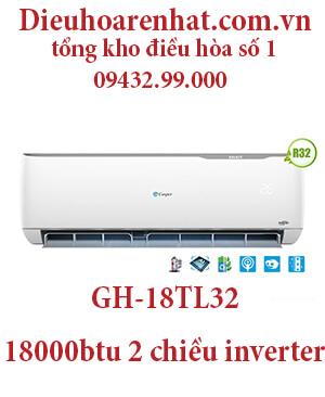 Điều hòa casper GH-18TL32 18000BTU 2 chiều inverter – uy tín giá rẻ