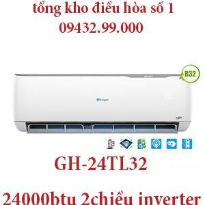 Điều hòa casper GH-24TL32 24000BTU 2 chiều inverter - uy tín giá rẻ