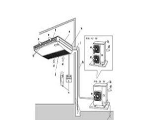 Cách lắp đặt máy âm trần
