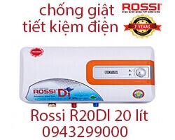 Bình nước nóng Rossi 20 lít R20DI