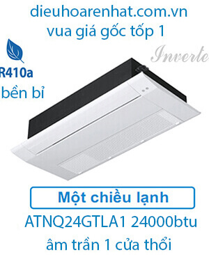 Điều hòa âm trần LG 24000btu 1 chiều ATNQ24GTLA1-vua giá gốc