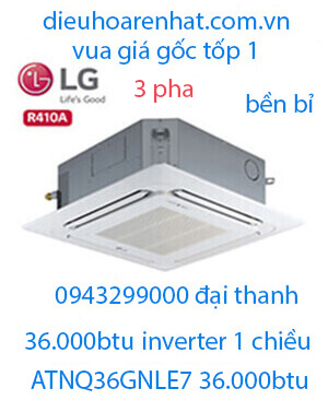 Điều hòa âm trần LG 36000BTU 3 Pha ATNQ36GNLE7/AUUQ36LH4