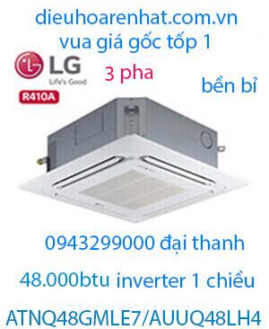 Điều hòa âm trần LG 48000BTU 3 Pha ATNQ48GMLE7/AUUQ48LH4