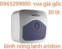 Bình nóng lạnh Ariston 30l BLU 30R- vua giá gốc