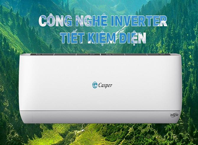 Điều hòa Casper 9000 tiết kiệm điện hiệu quả