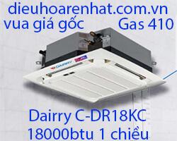 Điều hòa âm trần cassette Dairry 18000btu 1 chiều C-DR18KC