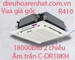 Điều hòa âm trần cassette Dairry 18000btu 2 chiều C-DR18KH