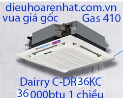 Điều hòa âm trần cassette Dairry 36000btu 1 chiều C-DR36KC