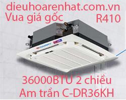 Điều hòa âm trần cassette Dairry 36000btu 2 chiều C-DR36KH