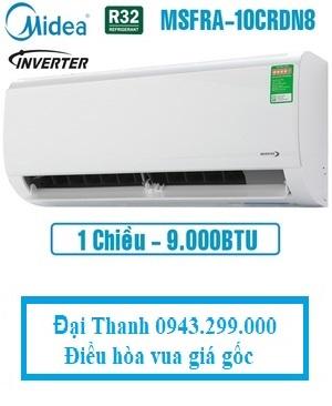 Điều-hòa-Midea-9000BTU-1-chiều-inverter-MSFRA-10CRDN8