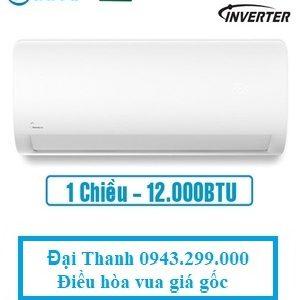 Điều-hòa-Midea-inverter-12000BTU-1-chiều-MSAG-13CRDN8