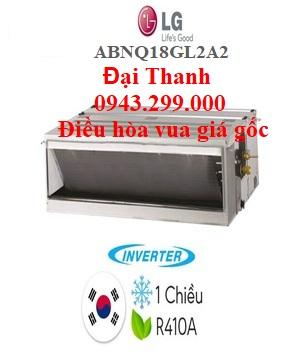 Điều hòa nối ống gió LG 18.000BTU inverter ABNQ18GL2A2 – Điều hòa vua giá gốc.