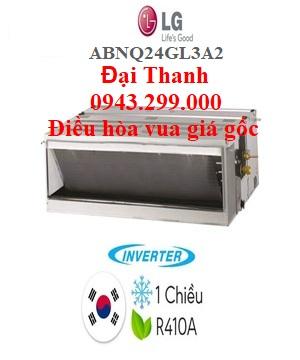 Điều hòa nối ống gió LG 24.000BTU inverter ABNQ24GL3A2 – Điều hòa vua giá gốc