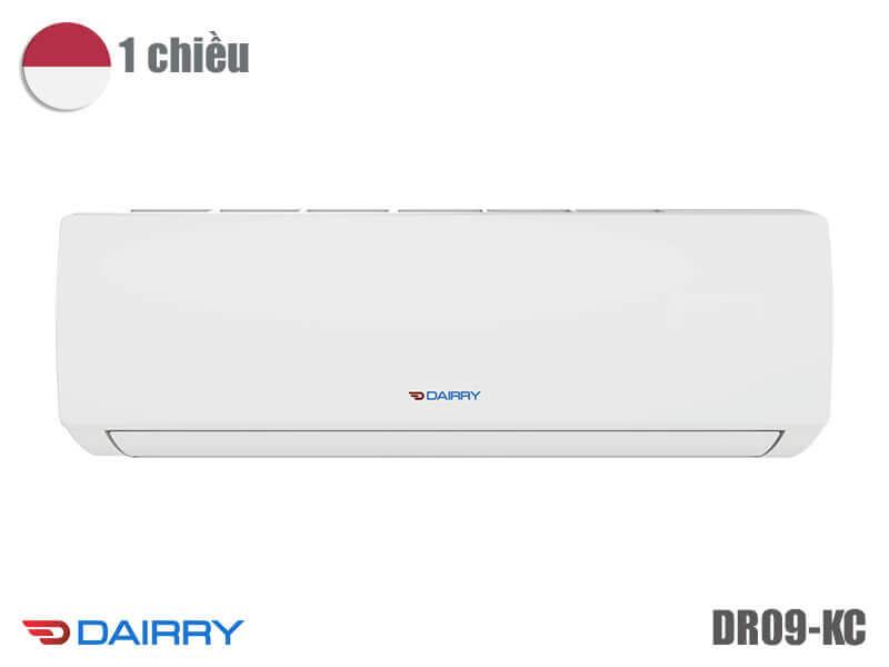 Giá điều hòa Dairry 9000 BTU 1 chiều DR09-KC