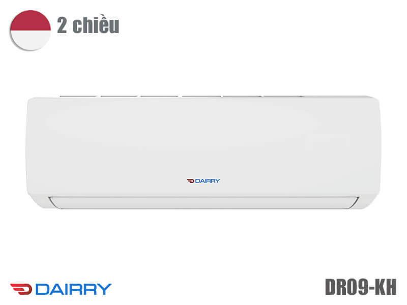 Giá điều hòa Dairry 9000 BTU 2 chiều DR09-KH