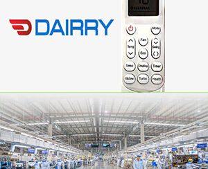 Hướng dẫn sử dụng điều khiển điều hoà dairry