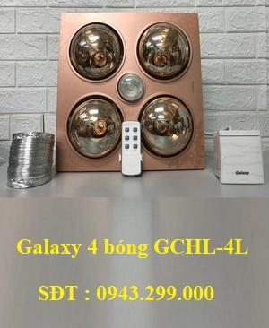 Đèn sưởi nhà tắm Galaxy 4 bóng GCHL-4L