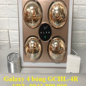 Đèn sưởi nhà tắm Galaxy 4 bóng GCHL-4R