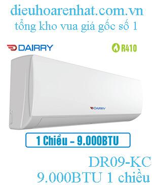 Điều hòa Dairry 9000btu, 1 chiều DR09-KC